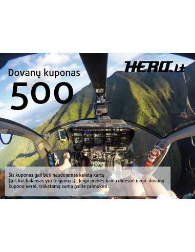 Dovanų kuponas-500