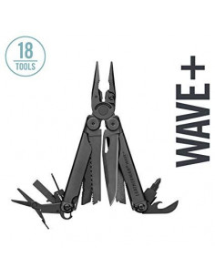 """LEATHERMAN įrankis """"Wave"""" Plus juodas"""