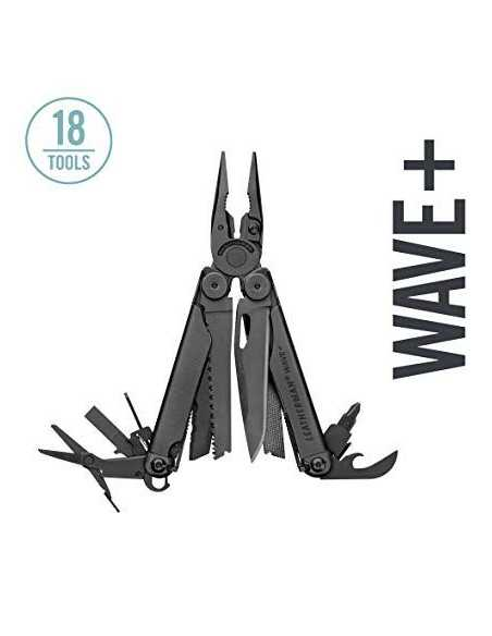 "LEATHERMAN multi-tool ""Wave"" Plus black"