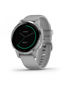 Garmin  Vivoactive 4S Powder Gray / Silver band
