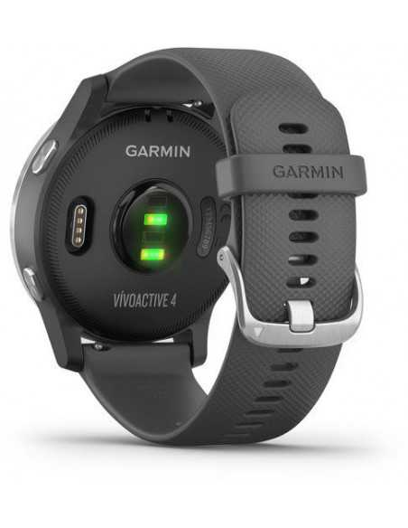Garmin  Vivoactive 4 Silver / Gray band