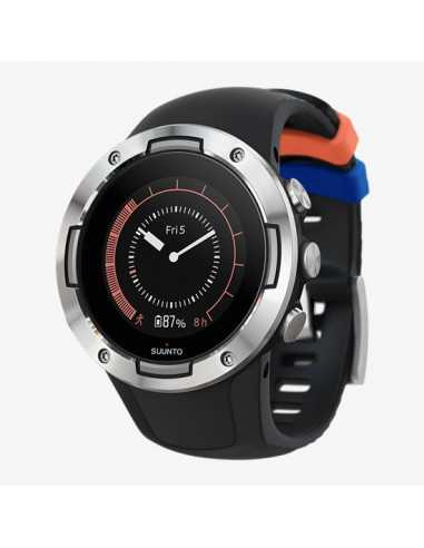 GPS SPORT WATCH SUUNTO 5 BLACK STEEL