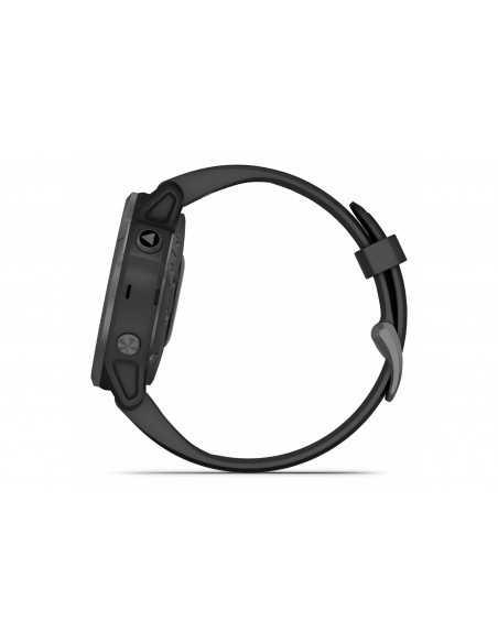010-02159-25  Garmin Fenix 6S Sapphire CarbonGrey/Black band