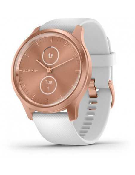 Garmin Vivomove Style Rose Gold / White band