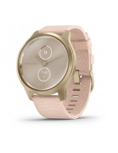 010-02240-22 Garmin Vivomove Style Gold /Pink nylon band