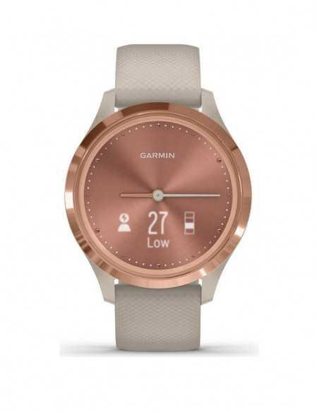 010-02238-22  Garmin VivoMove 3s  Rose Gold / Light Sand band