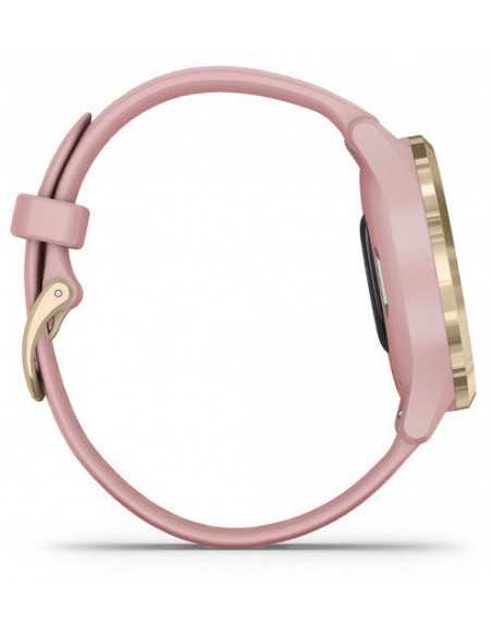 010-02238-21 Garmin VivoMove 3s  Light Gold / Rose band