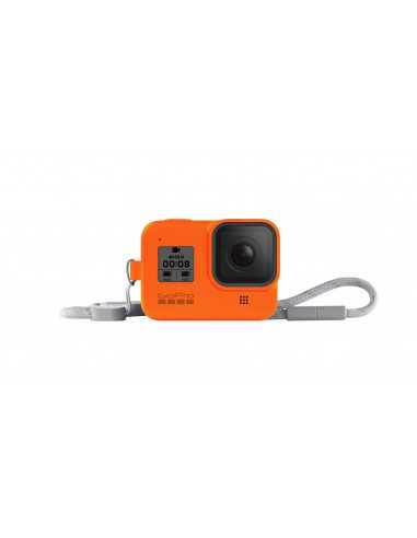Hero8 Black Sleeve + Lanyard (HYPER ORANGE)