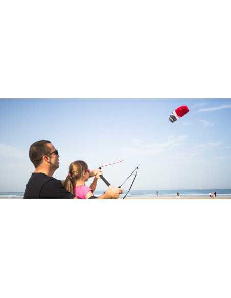 CrossKites Boarder – 2 line Trainer kite 2,1m (Yellow)