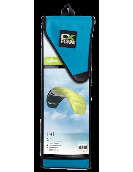 CrossKites Boarder – 2 line Trainer kite 2,5m (OrangeYellow)
