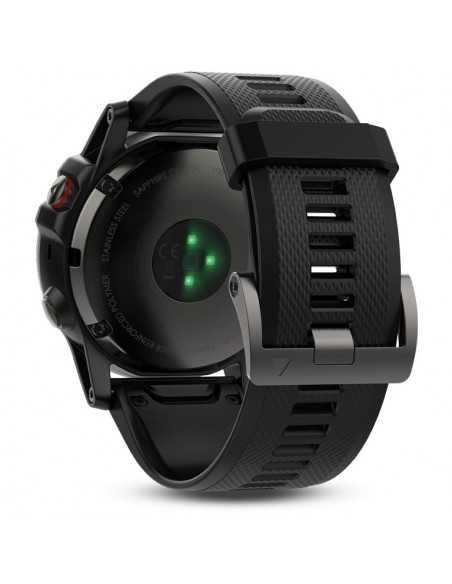 Laikrodis Garmin Fenix 5X Sapphire Grey/Black