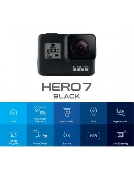 GoPro HERO7 BLACK veiksmo kamera