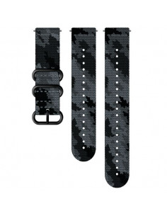 Textile strap SUUNTO 24MM  BLACK