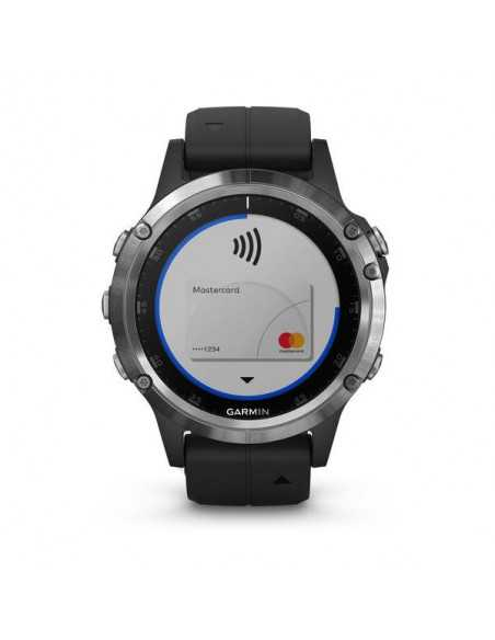 Laikrodis Garmin Fenix 5 Plus Sapphire Black