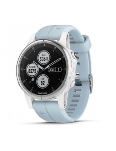Laikrodis Garmin Fenix 5S Plus White with Seafoam Band