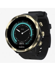 SUUNTO 9 Gold Leather