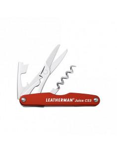 LEATHERMAN kišeninis įrankis Juice CS3, Cinnabar red (raudonas)