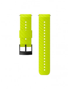SUUNTO 24mm SILICONE LIME/BLACK
