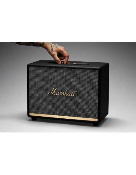MARSHALL Woburn II Black (juoda) BlueTooth kolonėlė