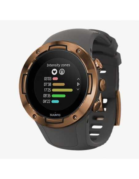 GPS SPORT WATCH SUUNTO 5 GRAPHITE COPPER