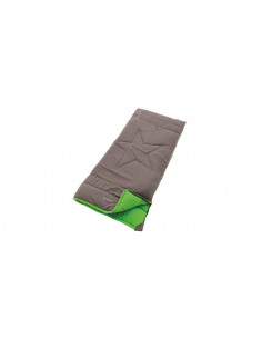 Outwell Champ Kids, Sleeping bag, 150 x 70 cm, 8/4/-10 °C, Rock Grey