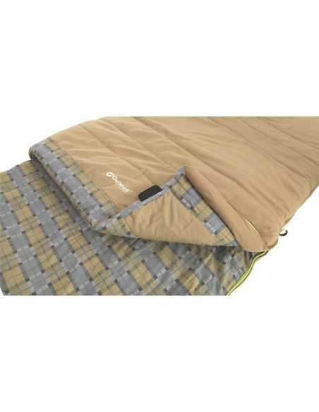 Outwell Commodore, Sleeping bag, 225 x 85 cm, 9/5/-8 °C, with loose Pillow