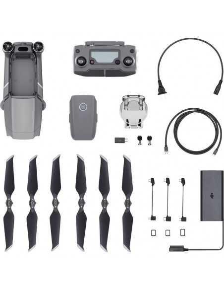 DJI Mavic 2 Zoom Drone + + Fly More Combo priedų rinkinys.