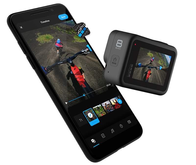 GoPro hero8 App