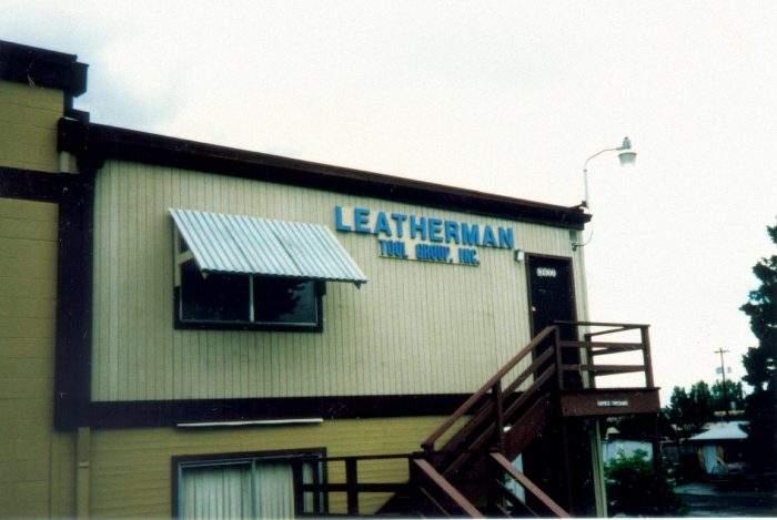 Leatherman pirmoji gamykla