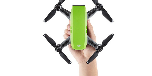 DJI Spark is already here .. The smallest DJI Drone!