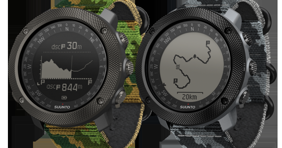 SUUNTO TRAVERSE WOODLAND AND CONCRETE